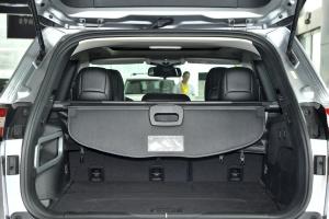 进口自由光 行李箱空间