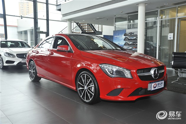 奔驰CLA级新增入门车型 售26.6万元