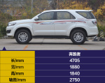 奔跑者实拍丰田奔跑者 平行进口的硬派7座SUV图片
