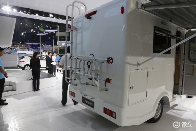 解放T80T80 旅居车