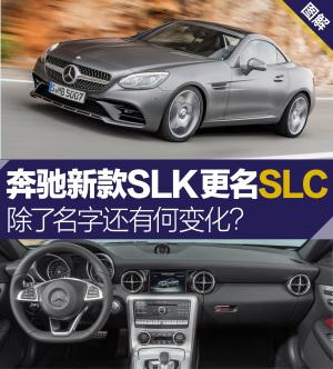 奔驰SLK级(进口)奔驰SLC官图解析图片