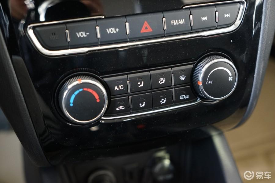 5l 手动 豪华型中控台空调控制键