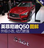 英菲尼迪Q50外观小改/动力更强 图解新款英菲尼迪Q50图片