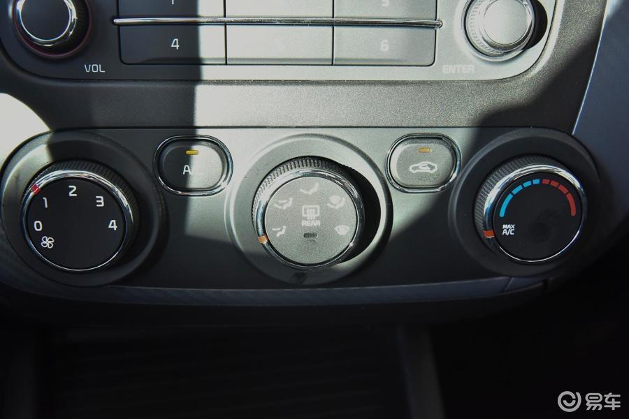 6l 自动 gls中控台空调控制键汽车