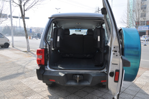 猎豹Q6行李箱空间图片