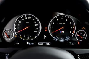 宝马X6 M(进口)仪表盘背光显示图片