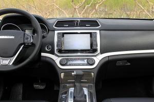 哈弗H6 Coupe中控台正面图片