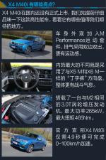 宝马X4(进口)X4 M40i图解图片