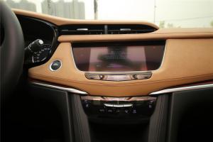 凯迪拉克XT5中控台正面图片