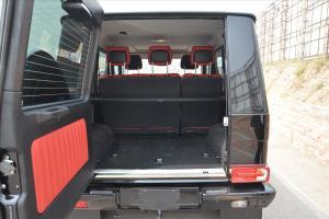 進口奔馳G級             行李箱空間