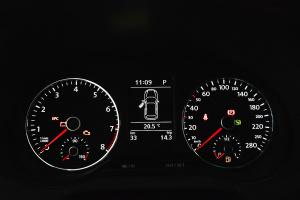 大众POLO GTI 仪表盘背光显示