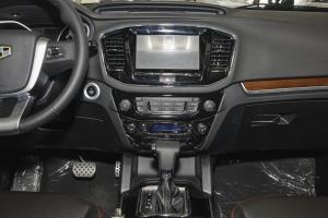 吉利GX7中控台正面图片