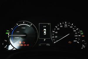 雷克萨斯GS仪表盘背光显示图片