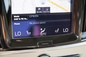 S90中控台空调控制键