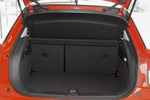 进口奥迪A1 行李箱空间