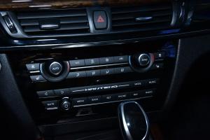 汉腾X7中控台空调控制键