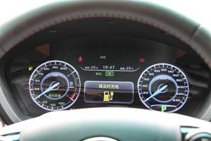 比亚迪秦EV300 仪表盘背光显示