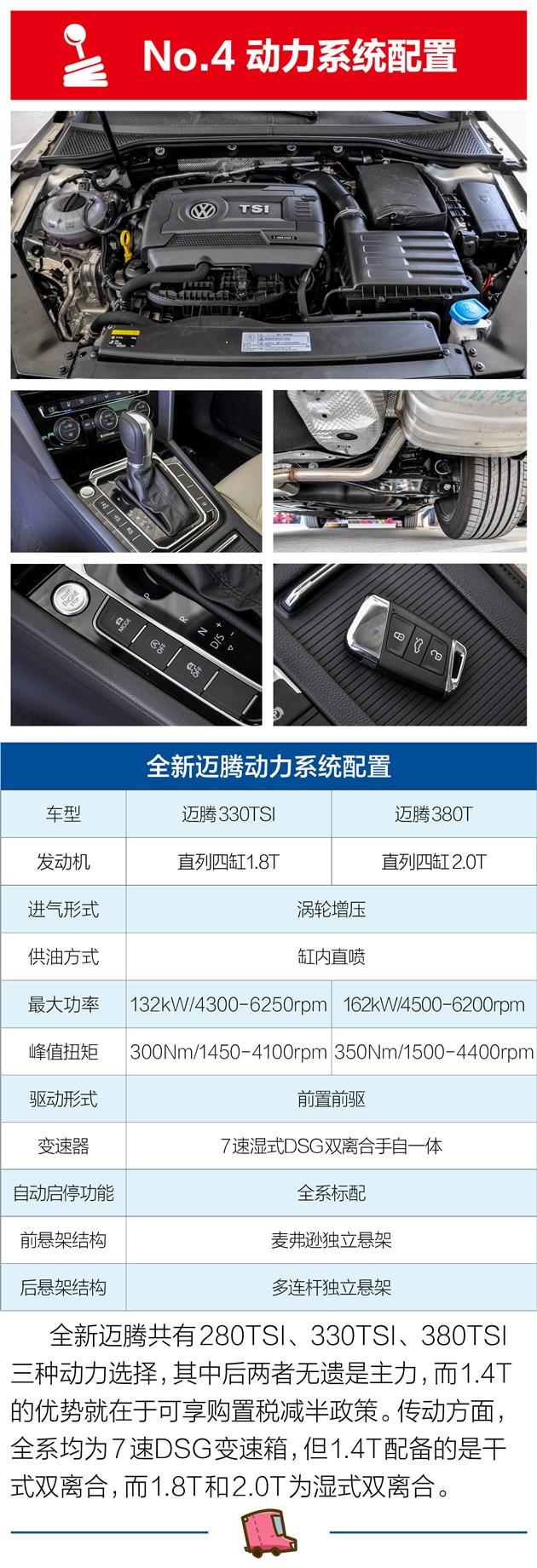 大众新迈腾买哪个车型配置好?
