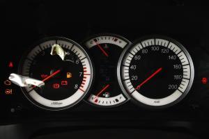 利亚纳A6两厢仪表盘背光显示图片