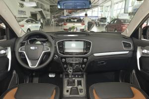 远景SUV完整内饰(中间位置)图片