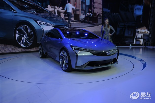 别克Velite概念车发布 搭插电式混动系统