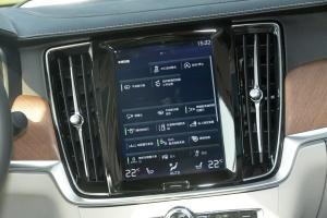 沃尔沃S90长轴版中控台正面图片