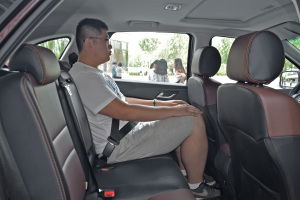 S350后排座椅