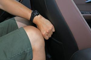 森雅R7后排腿部空间体验图片