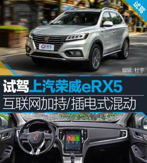 荣威RX5试驾上汽荣威eRX5 互联网加持/插电式混动图片