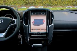 优6 SUV中控台正面图片