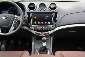 比亚迪S7中控台正面图片