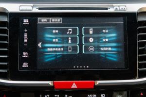 雅阁2016款 2.4L CVT 智尊版 外观冰河银 内饰黑色