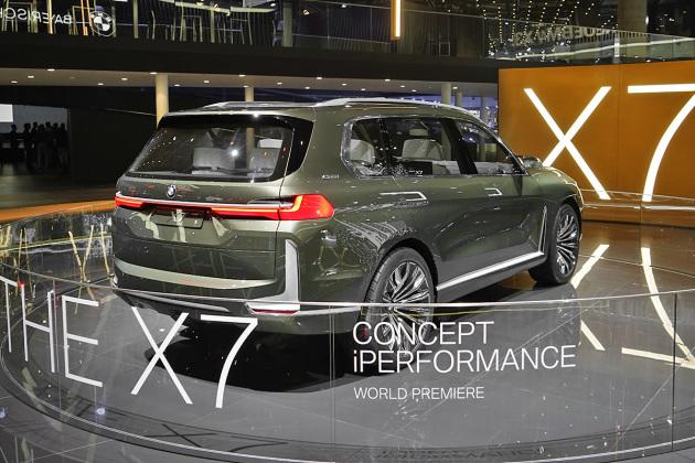 宝马X7国内路试谍照曝光 定位旗舰级SUV车型