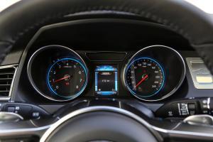 众泰T600仪表盘图片