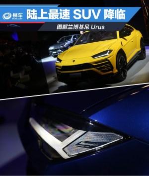 Aventador图解兰博最速SUV Urus图片