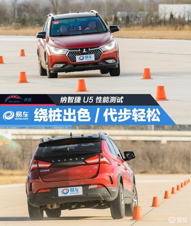 U5 SUV测试纳智捷U5 1.6L CVT