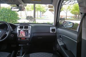 副驾驶位区域