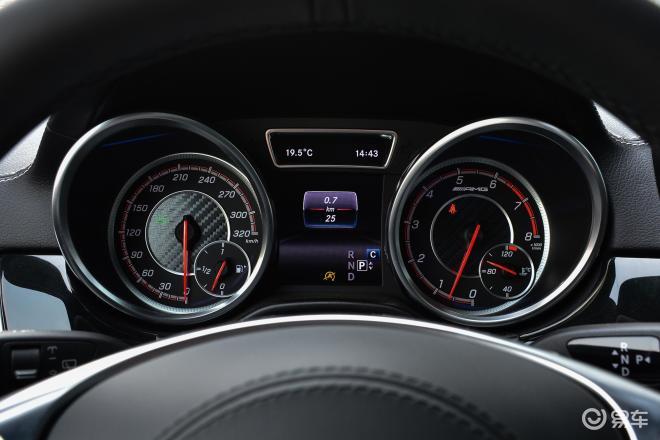 奔驰GLS AMG奔驰GLS AMG仪表盘