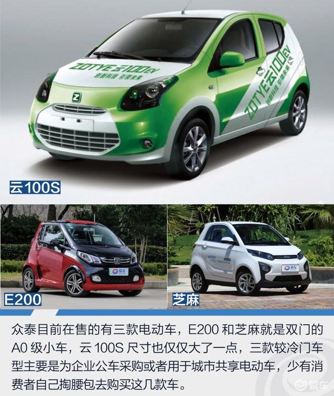 试驾众泰T300 EV 难得的纯电动小型SUV