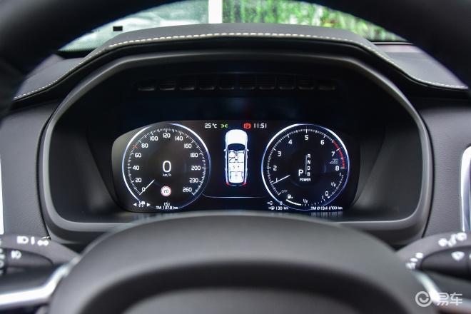 沃尔沃XC90 插电混动沃尔沃XC90 插电混动仪表盘