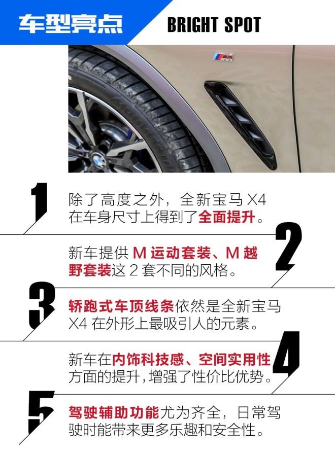 抢先试驾全新宝马X4 运动型SUV也有多面性