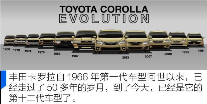 卡罗拉抢先实拍一汽丰田全新卡罗拉 TNGA架构的实力