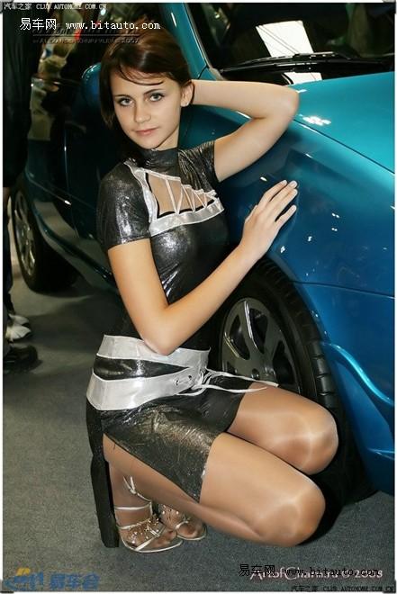 【俄罗斯的美女车模图片】 易车网b