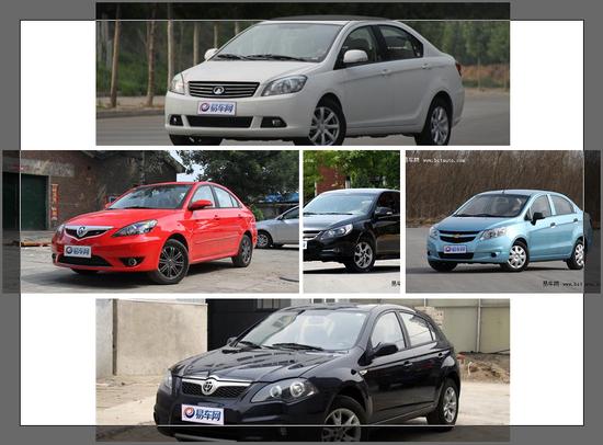 购车预算5-8万元 你会选什么样的车?