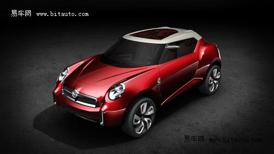 2012北京车展 MG ICON概念车全球首秀