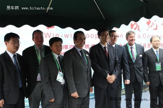 纳威司达宣布扩大与江淮汽车的合作计划