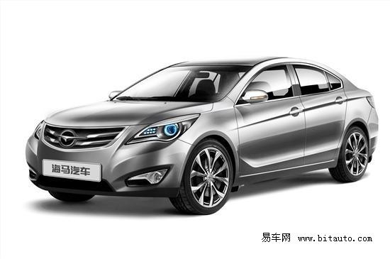 海马汽车全系车型亮相2012北京车展