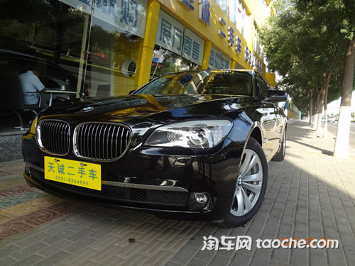 2011款宝马730Li典雅型 售78万元