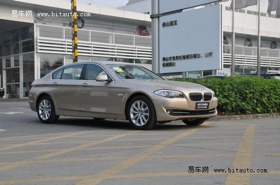 杭城地区宝马5系Li已抵达 订金5万元