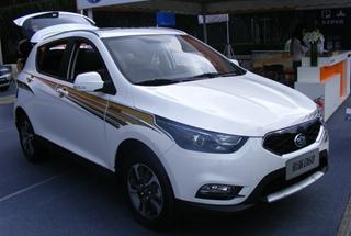 天津一汽SUV骏派D60盛装亮相西安车展